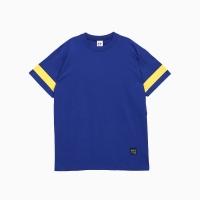 프로듀스 101 - 스트라이프 반팔 티셔츠_BLUE