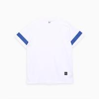 프로듀스 101 - 스트라이프 반팔 티셔츠_WHITE