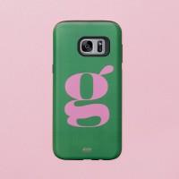 Green Pink 갤럭시 범퍼케이스