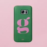 Green Pink 갤럭시 하드케이스