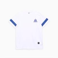 프로듀스 101 - 스트라이프 반팔 티셔츠_WHITE (패치)