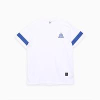 프로듀스 101 - 스트라이프 반팔 티셔츠_WHITE (전사필름)
