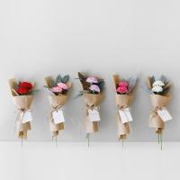 비누꽃 카네이션 네츄럴 꽃다발