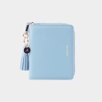 [태슬증정][살랑]Dijon 301 Layer ZIpper Wallet powder blue