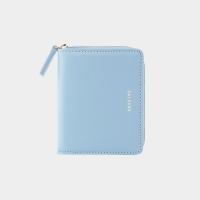 [살랑]Dijon 301 Layer ZIpper Wallet powder blue