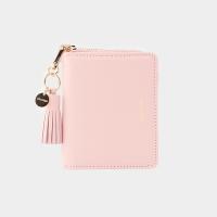[태슬증정][살랑]Dijon 301 Layer ZIpper Wallet peach pink
