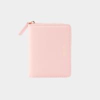[살랑]Dijon 301 Layer ZIpper Wallet peach pink