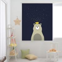 곰과 별 롤스크린(R617)_(1912675)
