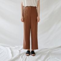 Linen light banding pants