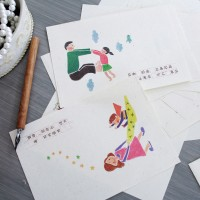 맘 대디 땡큐 레터 (4종택1)