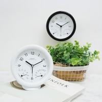 심플 온습도 탁상 알람 시계 (2color)