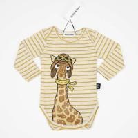 Giraffe Stripe Bodysuit