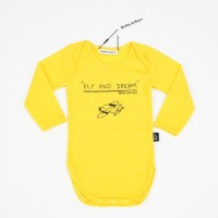Yellow Fly Bodysuit