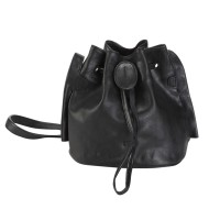 Beata Small Bucket Bag Black