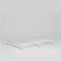 [라쏨] 침대 프레임 화이트 (슈퍼싱글/퀸/킹/패밀리)