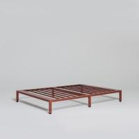 [라쏨] 침대 프레임 로즈브라운 (슈퍼싱글/퀸/킹/패밀리)