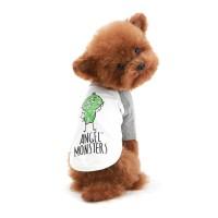 [TS544]퍼피엔젤 Monsters Raglan T-shirts(8컬러)_(570487)