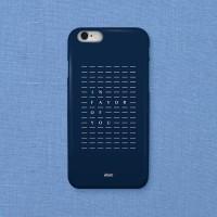 Indigo Pattern 아이폰 하드케이스