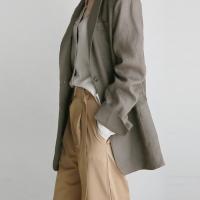 Linen 2-button jacket