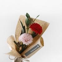 카네이션 비누꽃 미니 꽃다발