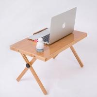 대나무 각도조절 노트북 테이블
