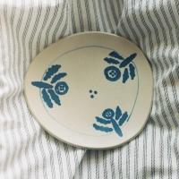 몽돌 인 블루 - 접시