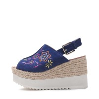 kami et muse Embroidery eapadrille wedge sandals_KM17s153