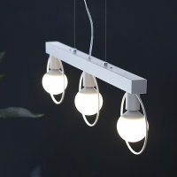 [바이빔][LED] 네스트 3등 펜던트-화이트
