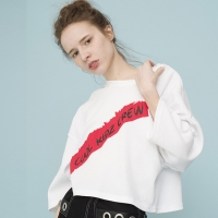 Oversized Batwing T-shirts (WHITE)