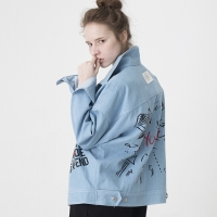 Artist Hommage Denim Trucker Jacket (BLUE)