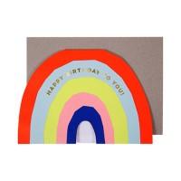 (lunelapin) 네온 레인보우 카드