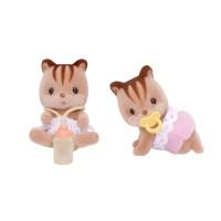 실바니안패밀리 5081 호두다람쥐 쌍둥이(3218))