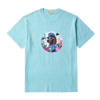 TROPICAL DOG PRINT 1/2 TS MINT