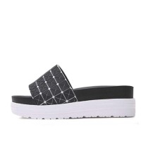 kami et muse Modern pattern top platform slippers_KM17s157