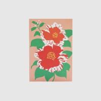 Post card - Illustration (Camellia)