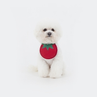 Tomato Dog Bib