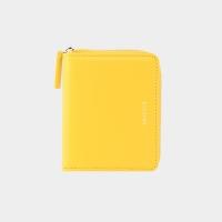 [살랑]Dijon 301 Layer ZIpper Wallet lemon yellow