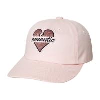NOMANTIC HEART LOGO CAP PINK