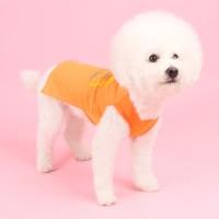 메쉬 민소매티셔츠(summer-orange) mesh sleeveless