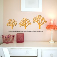 우드스티커- 가지나무 (컬러완제) W496 포인트
