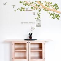 우드스티커- 봄봄 (반제품) 나뭇가지 W493