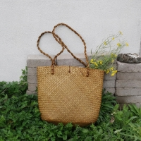 Big straw bag