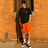 DUBLIN CAMP SHORTS apa181m(Orange)