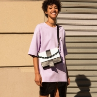 UNISEX OVERSIZED DAMBORU T-SHIRT atb148u(Purple)