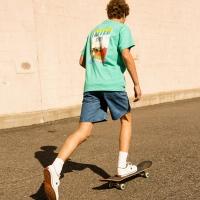 UNISEX PACIFIC SURFER T-SHIRT atb147u(Mint)