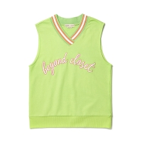 NEW BASIC LOGO VEST LIME
