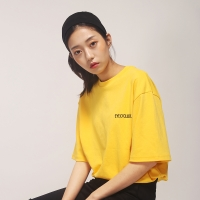 [아이어클락] EO'CK O-RING T-SHIRT_YELLOW