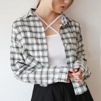 X-strap slit sleeveless