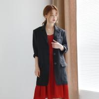 Manish linen boxy jacket