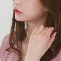 Silver chain mix ring(silver 925)